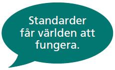 standarder får världen att fungera