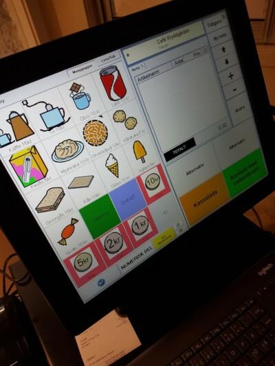 Ancon Assist med widgetbilder