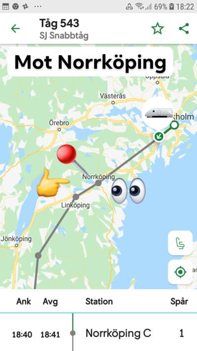 Norrköping på kartan