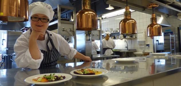 Hotell och restaurangskola i pts projekt med Ancon Assist
