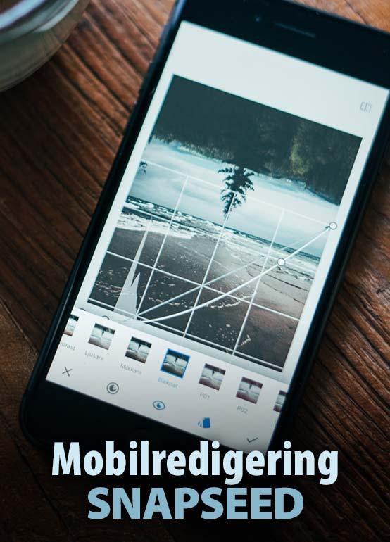 Månadens app- Snapseed skapar bildupplevelse